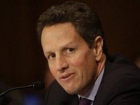Сенат США утвердил кандидатуру Гайтнера на пост министра финансов