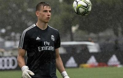 Лунін буде першим номером Реала на початку збору
