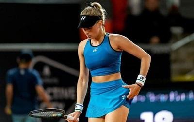 Ястремская не сумела выйти в финал турнира в Гамбурге