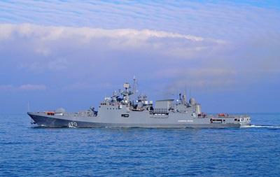 РФ провела учения в Черном море по уничтожению кораблей противника