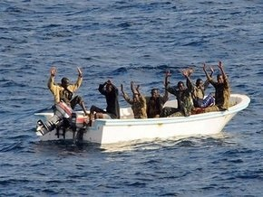 Американские военные задержали в Аденском заливе семерых пиратов