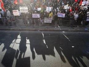 Акция тамилов парализовала центр Лондона