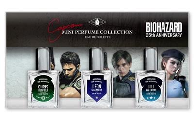 Capcom презентовала духи с запахом героев хоррора Resident Evil