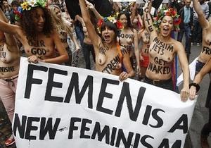 Активистки FEMEN откроют филиалы в Германии