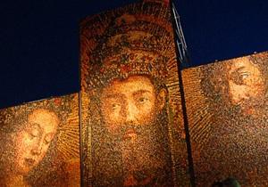 Фотогалерея: Алтарь наций. Грандиозная инсталляция из писанок в центре Киева