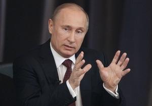 Путин опередил Обаму и Меркель в рейтинге влиятельности по версии журнала Foreign Policy