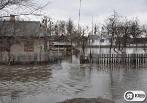 Погода в Украине - непогода - наводнение - паводок - Синоптики обещают повышение уровня воды в западных областях Украины