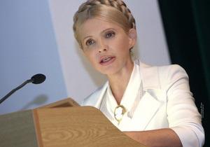 Тимошенко призвала срочно переизбрать все органы власти
