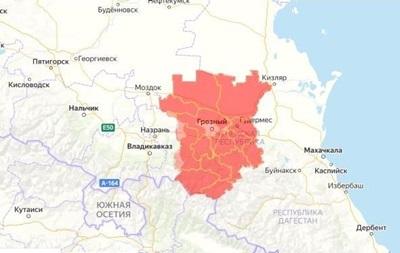 В українській версії карти Apple Maps виправили назву Чечні