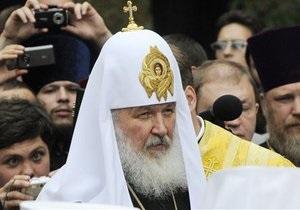 Патриарх Кирилл начал рождественское богослужение в храме Христа Спасителя в Москве