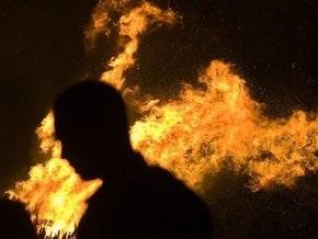 На базе отдыха в Херсонской области неизвестные сожгли шесть домов