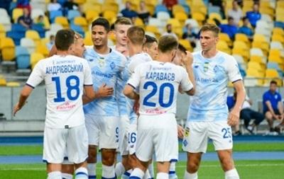 Динамо дізналося суперників у Лізі чемпіонів