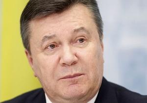 Янукович подписал ряд законов, принятых на выездном заседании