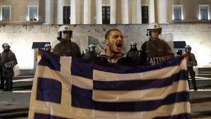 В Греции началась новая волна протестов на фоне переговоров о кредитах
