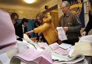 Во Львове провели митинг против возможных фальсификаций на выборах