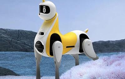 В Китае показали робота-лошадь