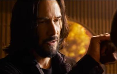 Вышел первый официальный трейлер фильма Матрица: Воскрешение