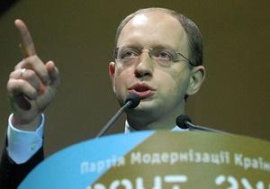 Яценюк подтвердил, что не будет поддерживать Тимошенко или Януковича