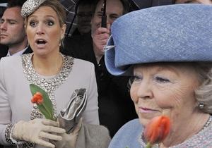 Королева Нидерландов Беатрикс отреклась от престола