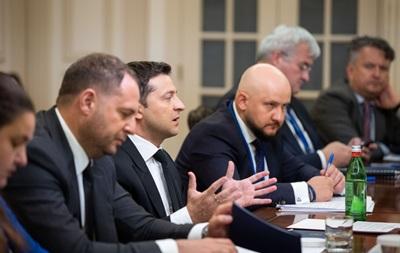 Зеленский встретился с потенциальными инвесторами
