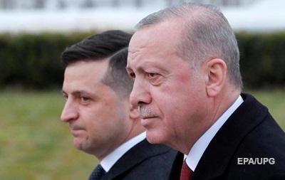 Зеленский и Эрдоган обсудили задержания в Крыму