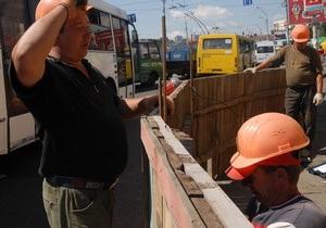 Московскую площадь в Киеве планируют отремонтировать в этом году