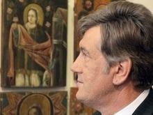 В Москве пройдет выставка икон из коллекции Ющенко