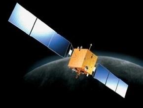 Китайский спутник  столкнулся  с Луной