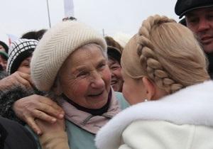 Сегодня Тимошенко посетит Днепропетровскую область