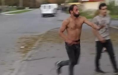 В Волынской области пьяные ромы избили ветерана АТО - соцсети - (видео)