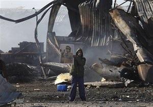 В Триполи прогремела серия взрывов