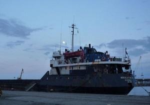 В Одесской области затонул молдавский теплоход