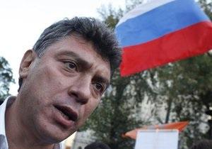 В Петербурге задержан Борис Немцов