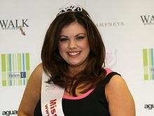 Полная девушка впервые попала в финал конкурса Мисс Англия