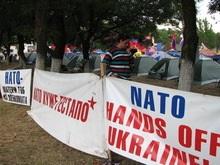 В Одессе начались акции протеста против учений Си Бриз-2008