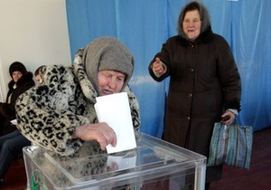 Фотогалерея: За Ющенко! Хоружевка выбирает Президента