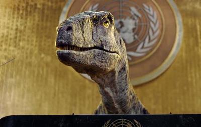 Динозавр с трибуны ООН обратился к мировым лидерам