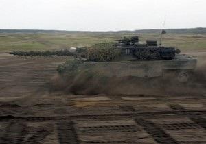 Германия может отправить в Афганистан тяжелые танки