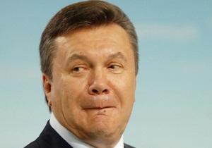 БЮТ: Янукович отдал предпочтение отдыху после тяжелого похмелья
