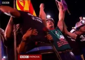Шахтарі протестують у Мадриді проти заходів економії