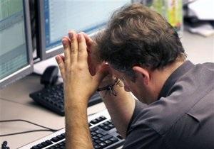 Украинский фондовый рынок перенес второй по интенсивности обвал с начала года