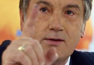 Ющенко: Проигран бой, но не проиграна война