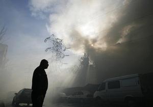 На рынке в Подмосковье произошел пожар: есть погибшие и пострадавшие