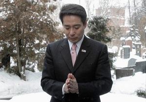 Глава МИД Японии из-за скандала ушел в отставку