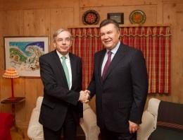 Янукович оценил сотрудничество Украины с ЕБРР как  блестящее