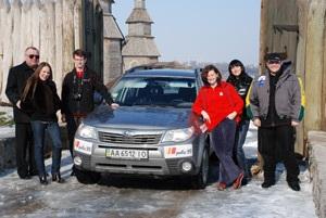 Subaru Forester установил рекорд Украины