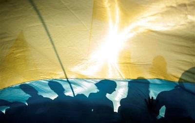 В Украине - День государственного флага