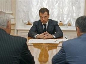 Медведев предложил Думе срочно ратифицировать договоры с Абхазией и Осетией