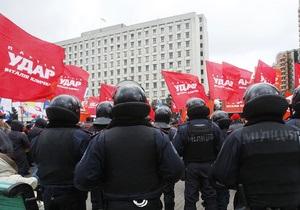 В УДАРе заявляют о давлении на новоизбранных депутатов со стороны ПР