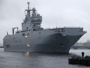 Эстония хочет выяснить, какой именно корабль Франция намерена продать России